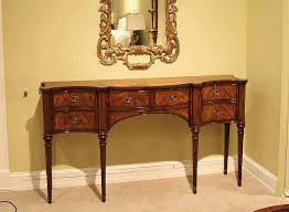 theodore alexander console table narrow mahogany sideboard for dining room great console table