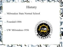 Uw Milwaukee Map Uw Milwaukee By Cody Sieracki History Milwaukee State Normal