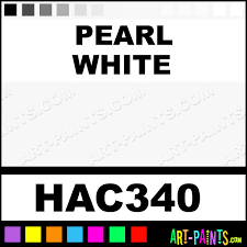pearl white artists acrylic paints hac340 pearl white paint