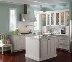 backsplash kitchen white cabinets gray walls kitchens white