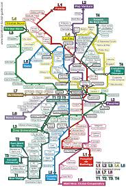 Where I Ve Been Map Barcelona Metro Map Looks Confusing But Got Used To It Red Blue