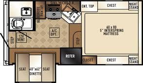R Pod Camper Floor Plans Rvs Cheyenne Camping Center