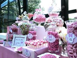 Pink Table L Buffet Pink Minnie Mouse Wedding Pinterest