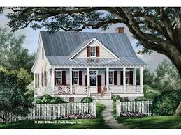 One Story Cottage House Plans Eplans Cottage House Plan Seeing Double Porches 1738 Square