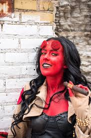 Hellboy Halloween Costume Hellgirl Costume Umbrella Studios