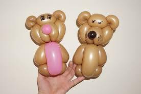teddy balloons balloon animals twisting balloon teddy