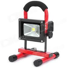 red led flood light rechargeable portable 10w 800 900lm 6000k led white light flood l
