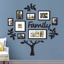 Wedding Wall Decor Family Tree Frame Collage Pictures Frames Multi Photo Mount Wall