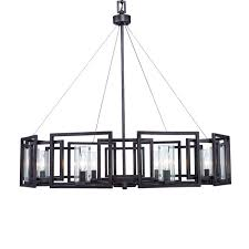 Black Iron Chandeliers Modern 6 Light Black Wrought Iron Chandeliers E26e27 Bulb Base