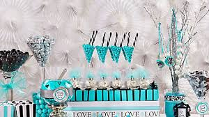 Candy Party Table Decorations Robin U0027s Egg Blue Candy Buffet Display Idea Party City