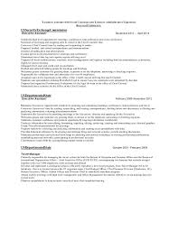 Executive Resume Format Template Experience Format Resume Experienced Resume In Word Format