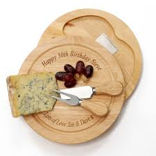 personalized cheese tray personalised cheese board set i just it