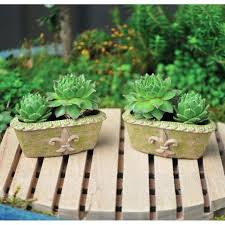buy miniature garden ornaments miniature cactus garden decorations