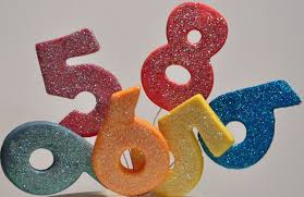 edible numbers cake toppers icingtoslicing