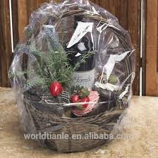 cello wrap for gift baskets clear shrink wrap bag for gift basket manufacture buy clear