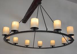 Rustic Candle Chandeliers Rustic Candle Chandelier Ideas Considering Wrought Iron Rustic