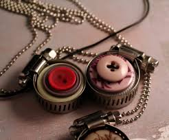 bottle cap necklaces ideas olive bites studio home of cat ivins and the polarity locket