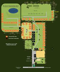 campsite plan steadings park campsite suffolk