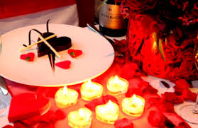 Valentine S Day Dinner Party Decoration Ideas by Lovely Valentine Dinner Table Decorations For Couple Homelk Com