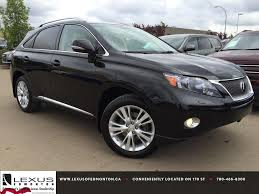 lexus certified pre owned black 2011 rx 450h awd hybrid touring
