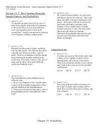 sample space worksheet worksheets releaseboard free printable