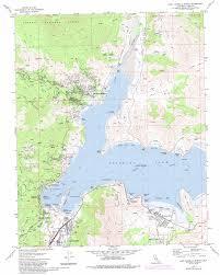 Denver Colorado On Map by Lake Isabella North Topographic Map Ca Usgs Topo Quad 35118f4