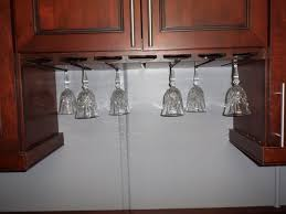 kitchen cabinet with wine glass rack wine glass cabinet knobs home bar design