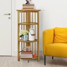 bookcase corner unit amazon com casual home 315 10 4 shelf corner folding bookcase