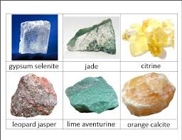 types of rocks rocks and minerals classified cards http
