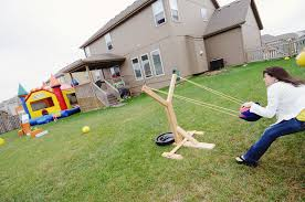 love this idea for life size angry birds slingshot something