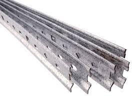 rail fixation meuble cuisine rail de fixation acier brico dépôt