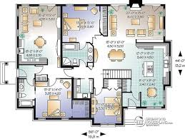 large family floor plans decorative multi family house plans apartment in best f multi
