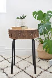Ikea Pouf 9 Cool Diy Side Tables From Various Ikea Items Shelterness