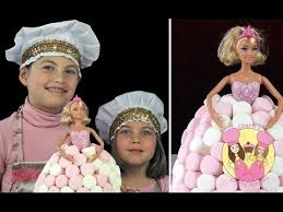 vintage barbie birthday cake how to make this easy cake using