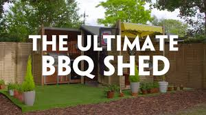 a bbq fan just won this ultimate beer shed youtube