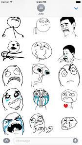 Meme Stickers - memes stickers for imessage rage comic stickers apps top