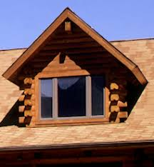 False Dormer Dormers Real Log Homes Real Log Homes