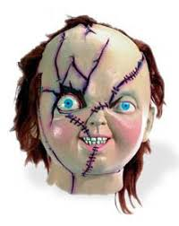 chucky mask blogging favorities chucky mask and shirt