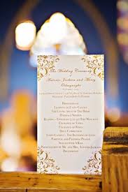 Ceremony Order For Wedding Programs Church Ceremony With Nigerian Traditions Chic Ballroom Reception
