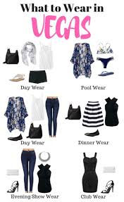 Nevada Travel Clothing images What to pack for vegas printable packing list included travel jpg