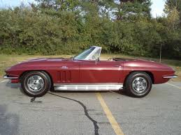1966 corvette specs chevrolet corvette convertible 1966 maroon for sale