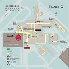 general hospital floor plan wayfinding in hospitals and health care rochester general hospital