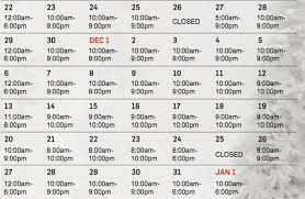 mall guide to ta hours pictures with santa more