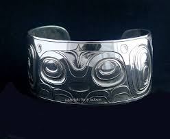 cuff bracelet styles images Custom hawks and eagles sterling silver cuff bracelet hand jpg