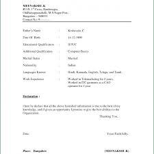 cv format for freshers computer engineers pdf files strikinge formats for it freshers format bcom pdf sle free