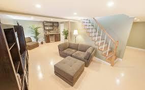 stylish idea basement floors flooring basements ideas