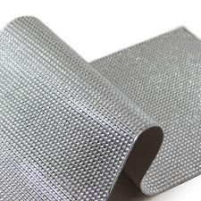 Bling Wrap For Vases Silver Diamond Wedding Wrap Silver Diamond Vase Roll Bling