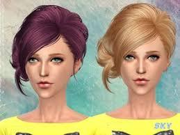 sims 4 custom content hair 116 best sims 4 custom content hair images on pinterest women