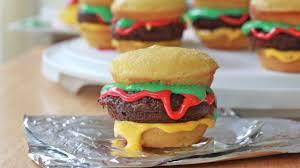 how to make hamburger cupcakes recipe divas can cook