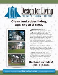 our new flyers design for living